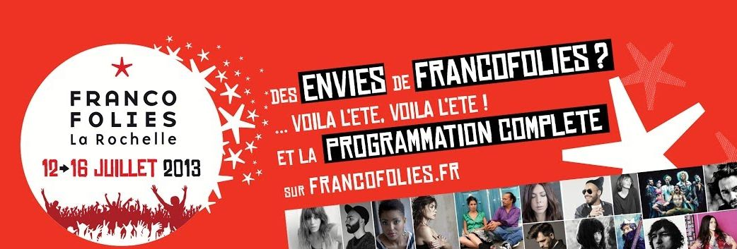 festival francofolies 2013