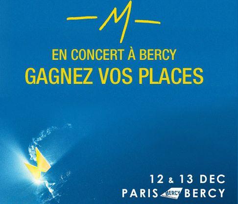 Gagnez des places pour le concert de -M- avec Le Parisien